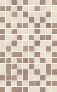 MM6267B Декор Мармион беж мозаичный 25х40х8 - фото 18566