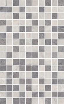 MM6268B Декор Мармион серый мозаичный 25х40х8 - фото 18569
