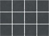 1291 Амальфи черный, полотно 30х40 из 12 частей 9,9х9,9 9,9х9,9х7
