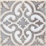 STG/A408/1266 Вставка Амальфи орнамент коричневый 9,9х9,9х7