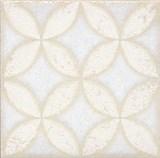 STG/B401/1266 Вставка Амальфи орнамент белый 9,9х9,9х7