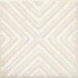 STG/B403/1266 Вставка Амальфи орнамент белый 9,9х9,9х7
