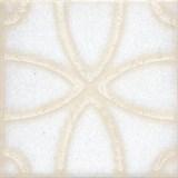 STG/B405/1266 Вставка Амальфи орнамент белый 9,9х9,9х7