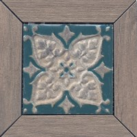 ID62 Вставка Меранти пепельный мозаичный 13х13х11