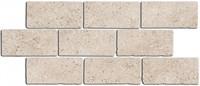 BR024 Бордюр Роверелла беж мозаичный 34,5х14,7х11