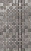 MM6361 Декор Гран Пале серый мозаичный 25х40х8