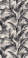 11134R Тропикаль листья чёрный обрезной 30х60х9