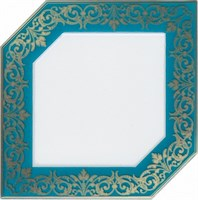 HGD/C250/18000 Декор Клемансо бирюзовый 15х15х6,9