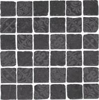 SBM002/DD6399 Декор Про Фьюче черный мозаичный 30x30x11