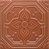 SSA005 Декор Салинас оранжевый 15х15