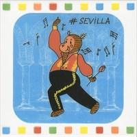 NT/A266/5009 Декор Большое путешествие Seville 20х20