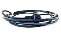 DEFROST WATER KIT 15м Комплект саморегулирующегося нагревательного кабеля (внутрь трубы) с евророзеткой с заземлением