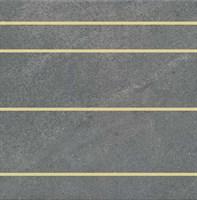 SBD061/SG9357 Декор Матрикс серый тёмный 30x30x8