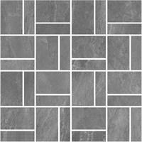 T021/DD2038 Декор Про Слейт серый мозаичный 30x30x11