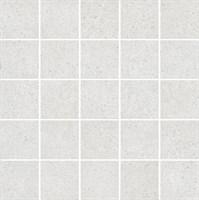 MM12136 Декор Безана серый светлый мозаичный 25x25x9