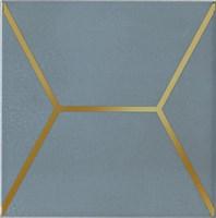 OP/E181/17067 Декор Витраж голубой 15x15x6,9