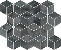 T017/14024 Декор Джардини серый темный мозаичный 45x37,5x10