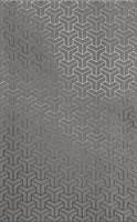 HGD/C371/6399 Декор Ломбардиа серый темный 25x40x8